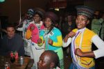 The African Drumbeat dancers from Port Elizabeth wowed the international media and surfers.