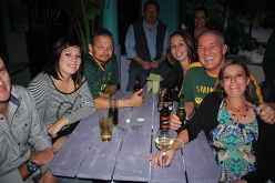 Mike Hay celebrated his 50th Birthday yesterday with family and friends at Shenanigans and Legends