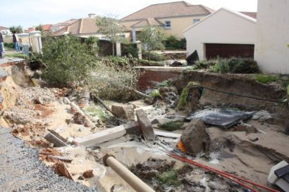 Devastation in Santareme