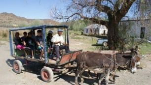 Donkey Ride at Nieu Bethesda