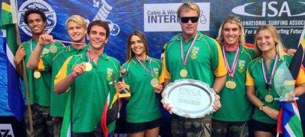 Team SA wins gold