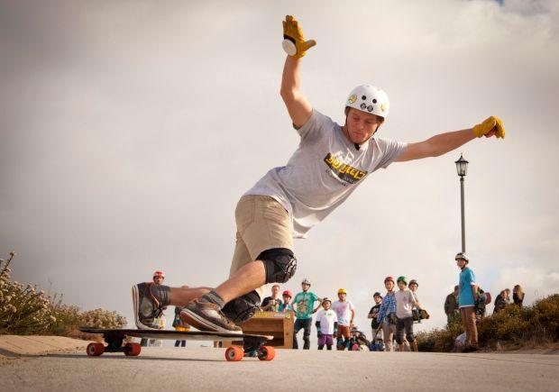 Skate boarding event, in Jeffreys Bay