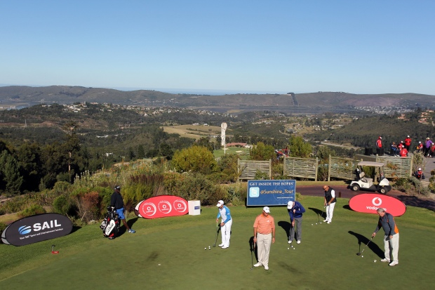 Vodacom Origins of Golf event in action..Photo credits: Carl Fourie and Luke Walker/Sunshine Tou