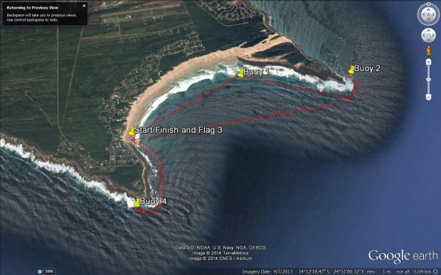 Cape St Francis Surfski Challenge