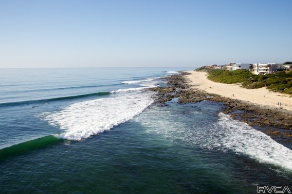 Jeffreys Bay beach