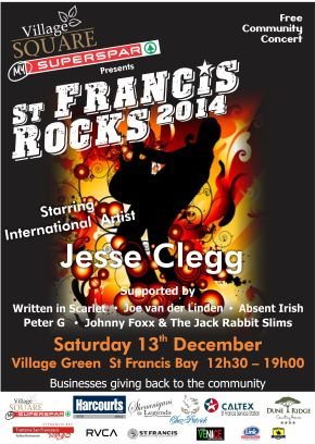 St francis Rocks Poster