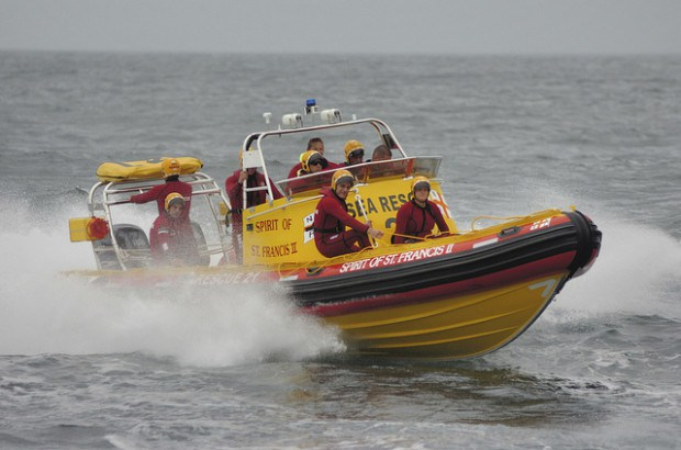 Spirit of St francis II - NSRI St Francis Bay sea rescue craft