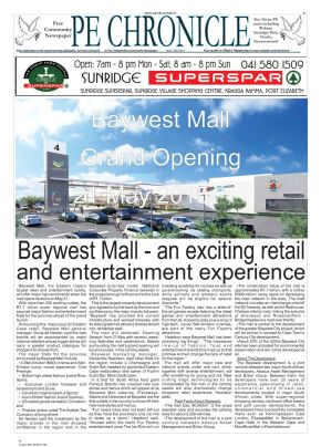 An artist's impression of Baywest Mall