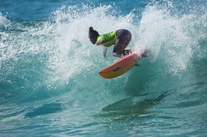 cele 1st woman zulu surfer