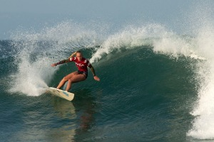 Crystal Hulett in action at The Lower Point © Luke Patterson