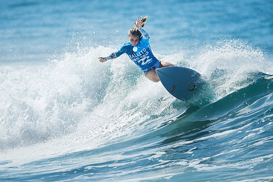 Faye Zoetmulder of Cape St. Francis, South Africa (pictured) advanced to the final of the Ballito Pro Presented by Billabong at Ballito, today.  The Ballito Pro Presented by Billabong is a QS1000 World Surf League rated event. IMAGE CREDIT: WSL / Ballito Pro / Cestari PHOTOGRAPHER: Kelly Cestari SOCIAL MEDIA TAG: @wsl @theballitopro @kc80 The Ballito Pro Presented by Billabong is an international surf and lifestyle event hosted in Ballito, the jewel of KwaZulu-Natal's North Coast.  This event is a strategic partnership between World Surf League (WSL) and the KwaDukuza Municipality, together with various public and private sector partners In 2015 Billabong took the baton from Mr Price, agreeing to carry on the proud legacy of the world's longest running progressional surfing event as it enters its 47th year. The festival runs from June 28 to July 5 and with over 10 000 visitors enjoying festivities last year 2015 promises to be bigger and better than ever and anticipates record numbers. View the event live at www.theballitopro.com.