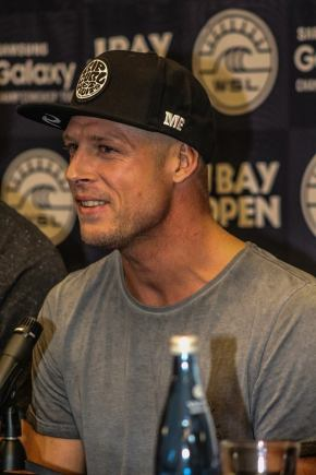 Mick Fanning at the opening function of the JBay Open. . Photo: Christopher Scott