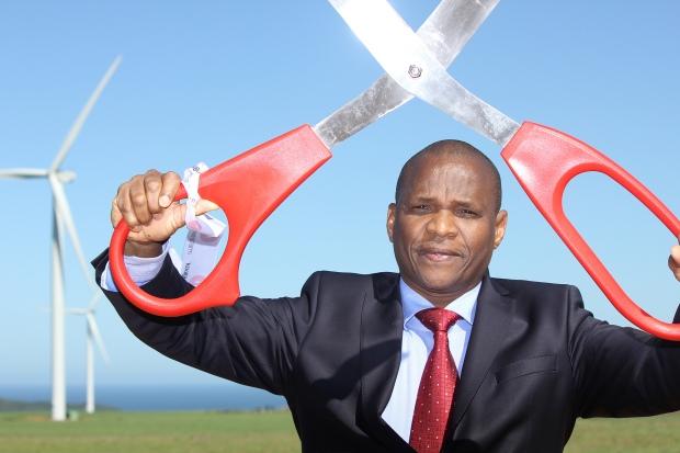 Kouga Wind Farm MEC Somyo ribbon cutting 3